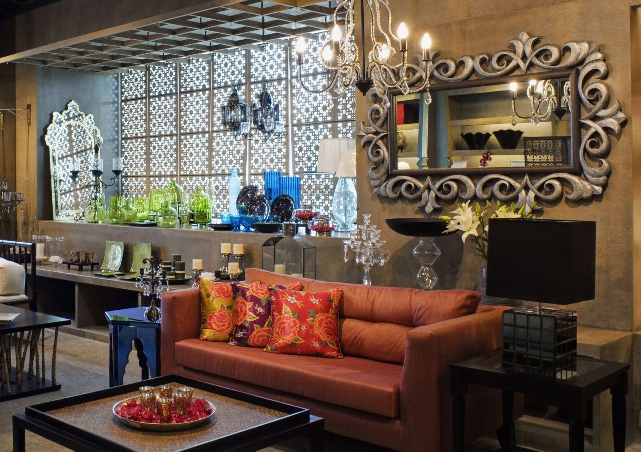 sofa set showroom in mumbai pottery barn sofas made usa good earth store bangalore india apartment