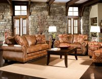 latest living room furniture sets leather
