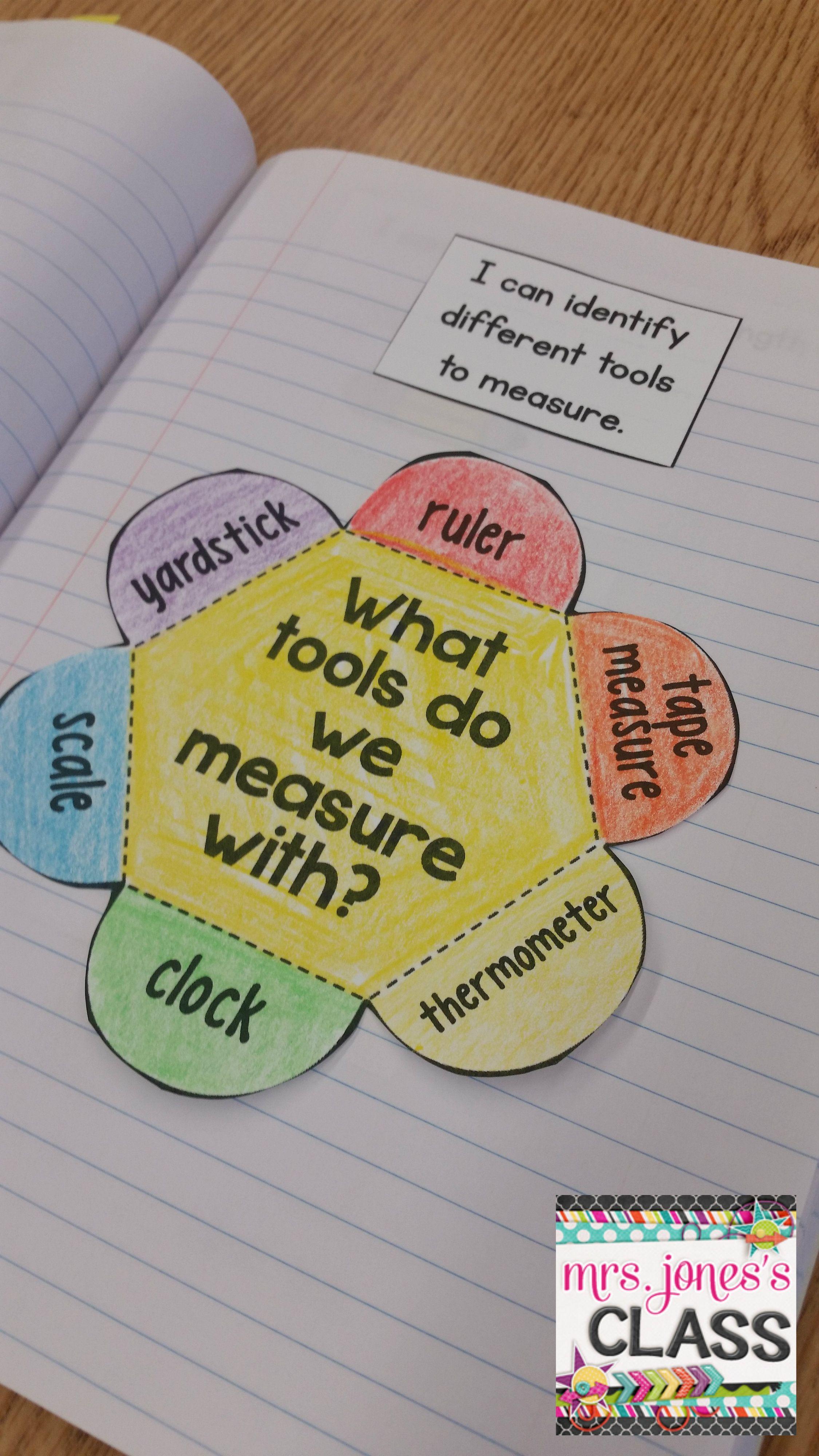 Interactive Math Notebook For 1st Grade Unit 3