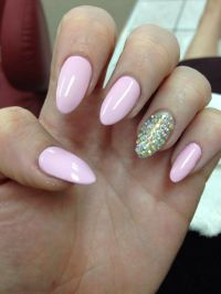 almond shaped nails - Google Search | Nails | Pinterest ...
