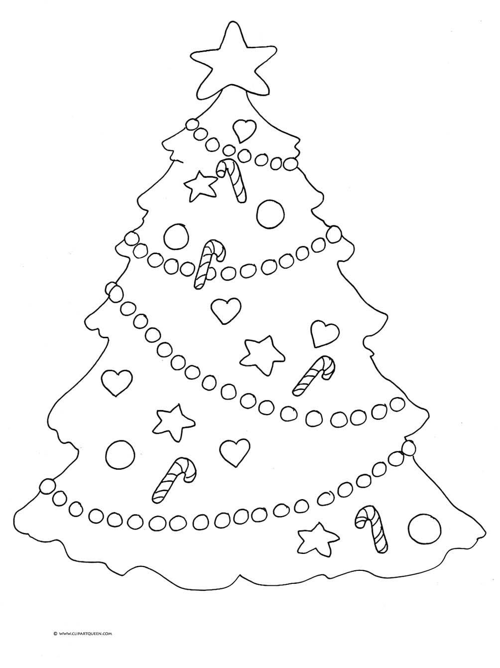 Christmas Clipart Colouring Pages Page 3 Christmas Coloring Pages