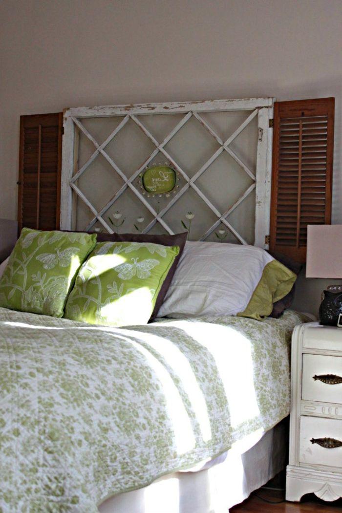 finest faire une tte de lit soimme une tte de lit shabby chic with lit shabby chic
