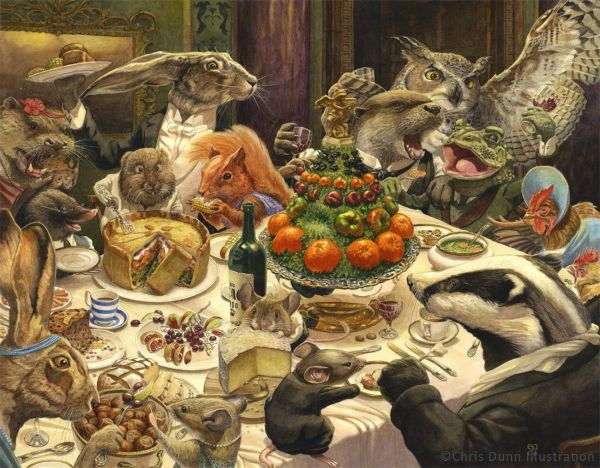 Chris Dunn Illustration Fine Art Favorite