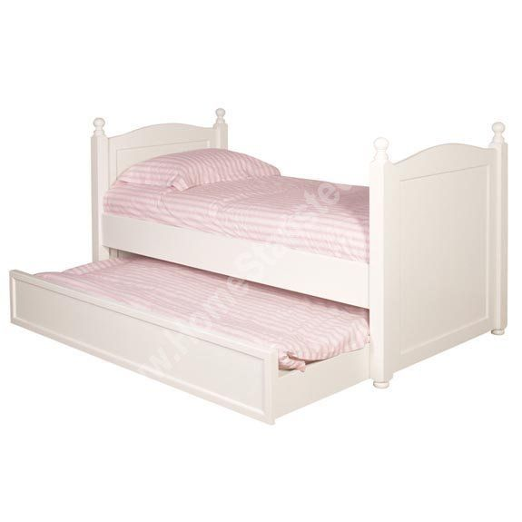 Home White Trundle 3ft Single Bed Pull Out Furniture Beds And Frames Http