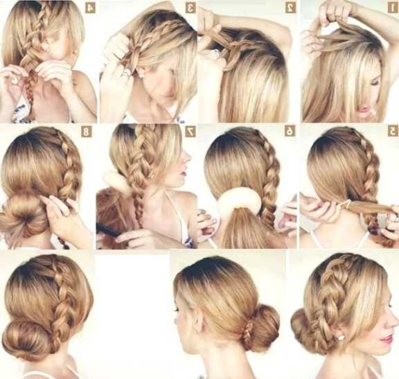 Frisuren Für Lange Haare Geflochten Anleitung