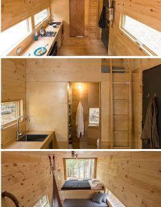 The clara  sq ft tiny houses on wheels also dream home pinterest rh