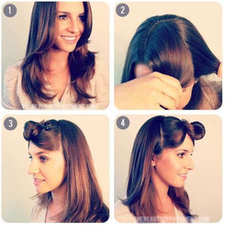 Back To School Hairstyle The Two Simple Ponytail Hairstyles That