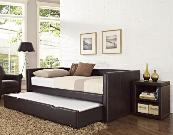 Twin Daybed with Trundle Bed