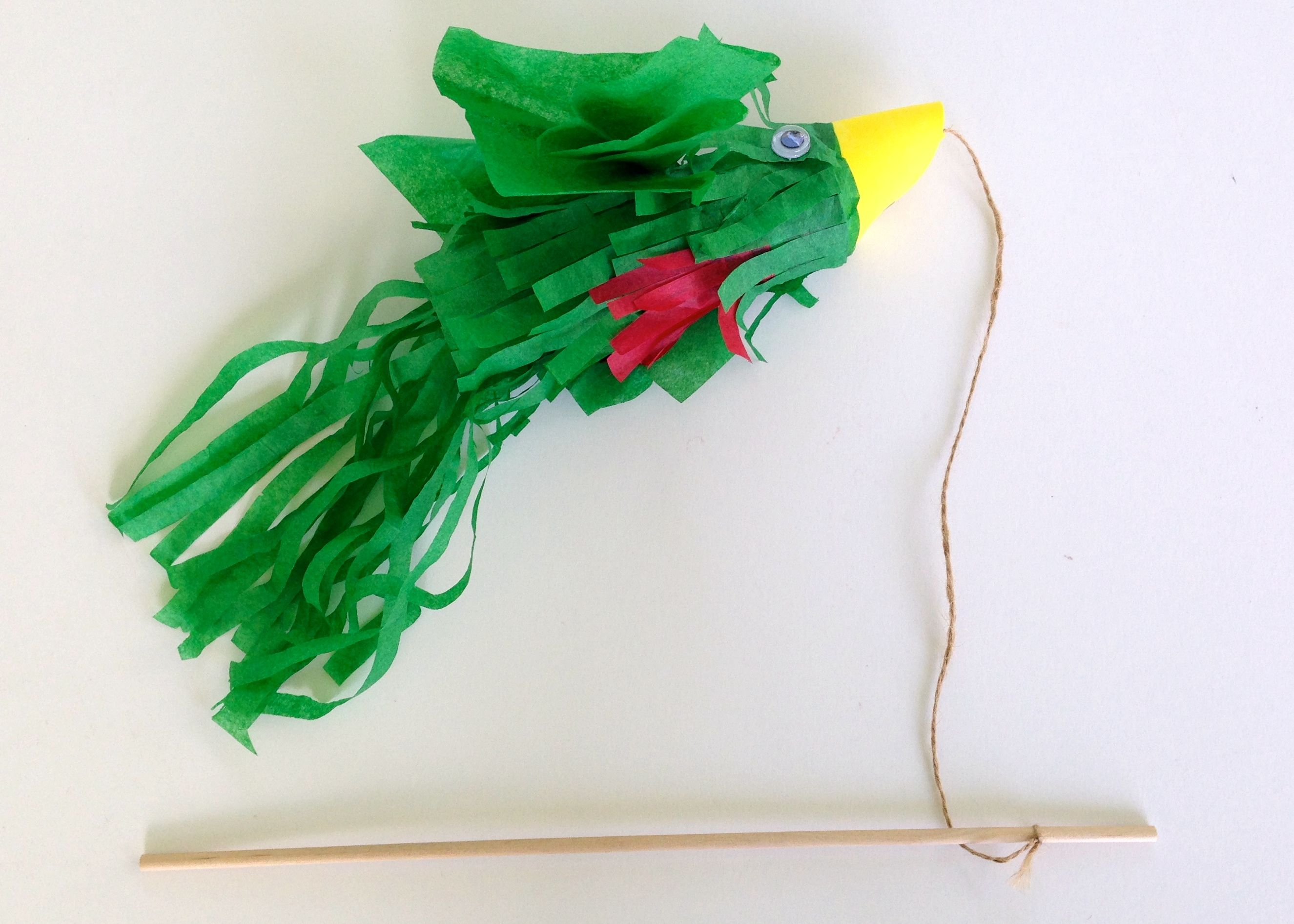 Quetzal Craft For Kids To Celebrate Guatemala S