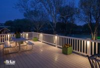 Deck Post Lighting | Residential Landscape Lighting ...