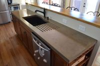 A Primer On Concrete Countertops  Precast vs. Pour In