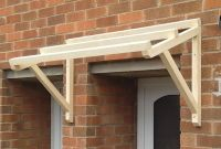 Timber Front Door Canopy Porch Hand Made Porch (120cm ...