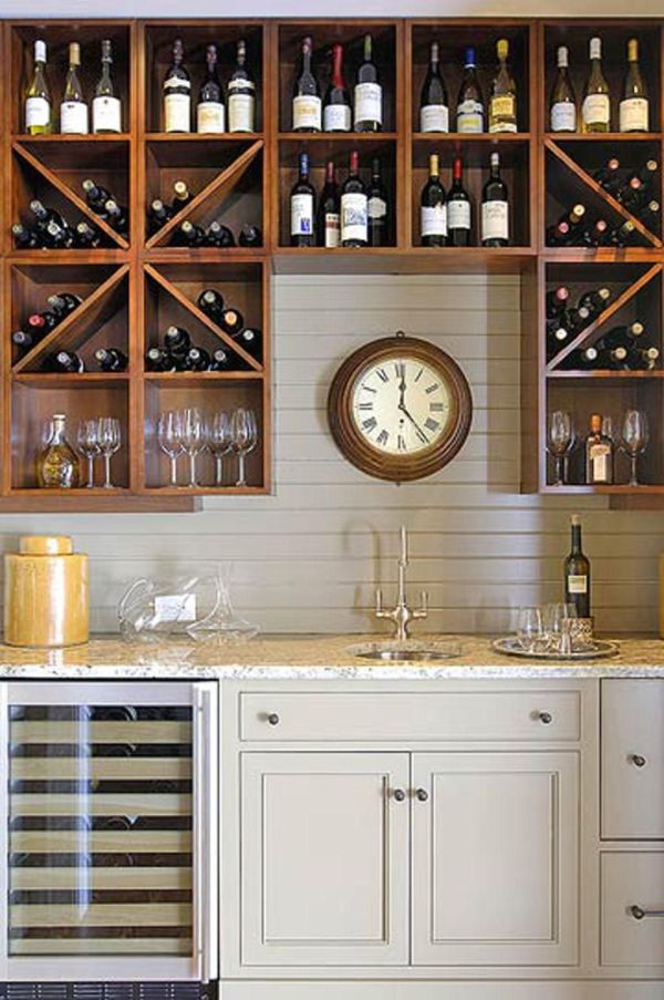 Wine Bar Decorating Ideas Home Wet Storage