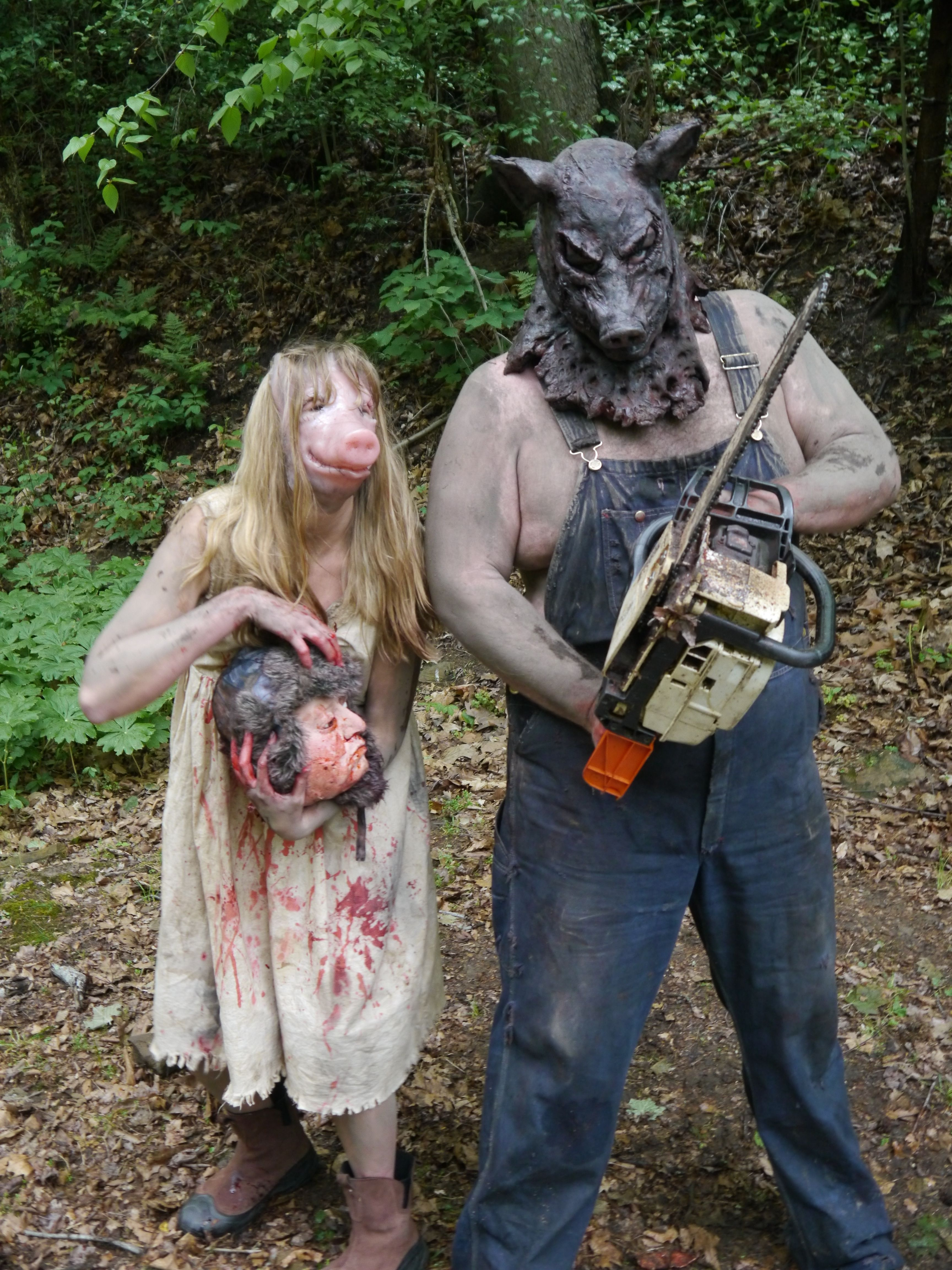 Porkchop Pig Girl WV Backwoods Horror! #Scary #gore #gore