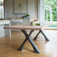 dining tables with metal legs | table legs | Pinterest ...