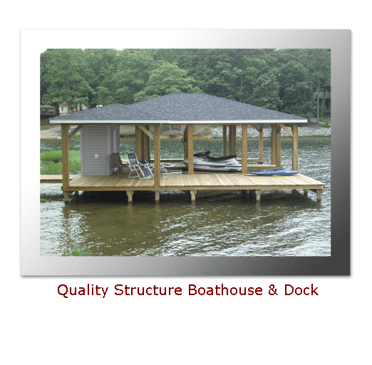 Quality Structured Boathouse Design On Lake Gaston My Style