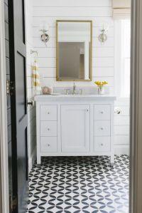 Black And White Tile Floor Bathroom | www.imgkid.com - The ...