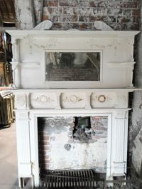 Victorian Fireplace Mantel with Mirror   FOR SALE : EARLY ...