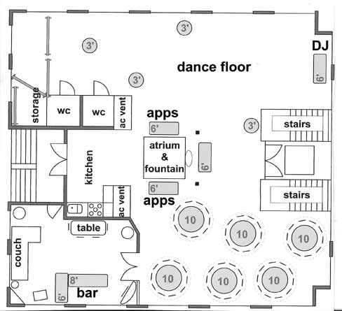 Another sample of layout you can do on our 3rd floor. This