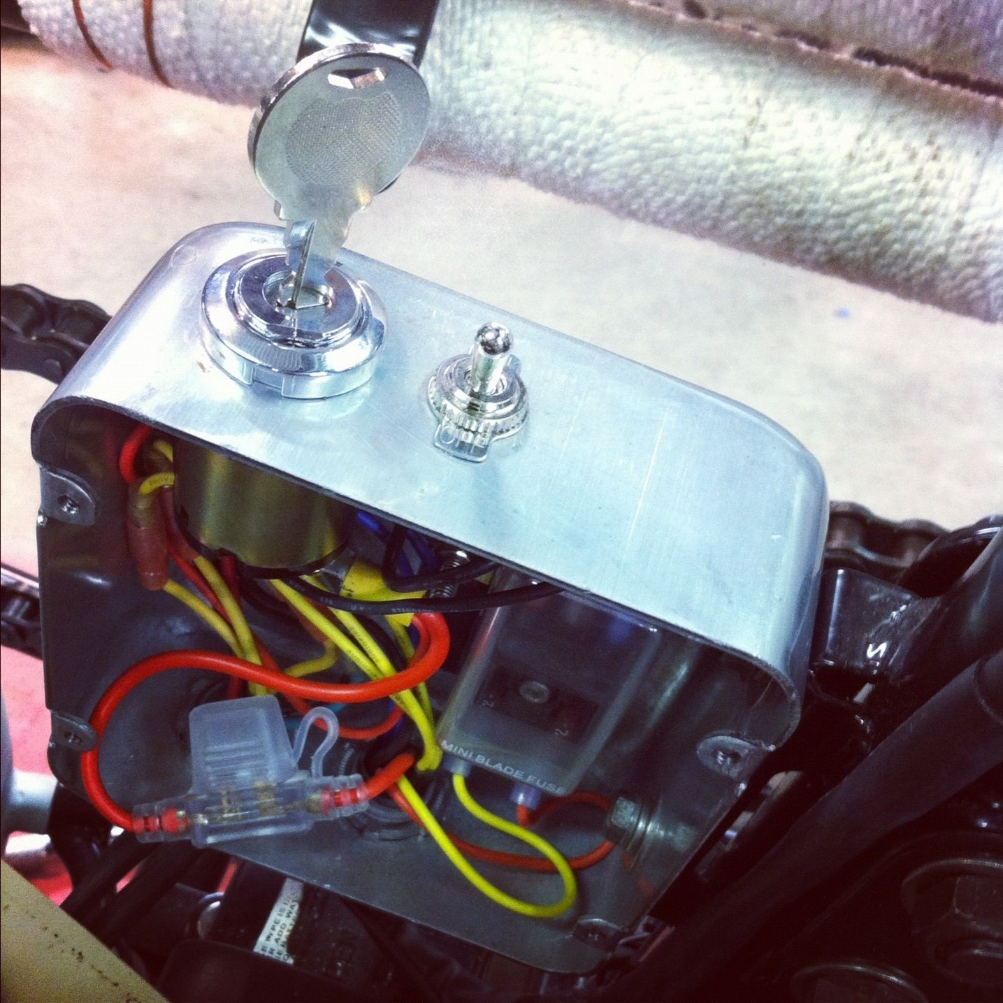 Motorcycle Wiring Products Cafe Racer Electrics Custom Motorcycle