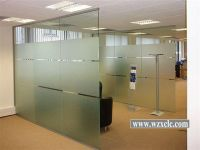 Modular Office Partitions With Straight Glass Panels ...