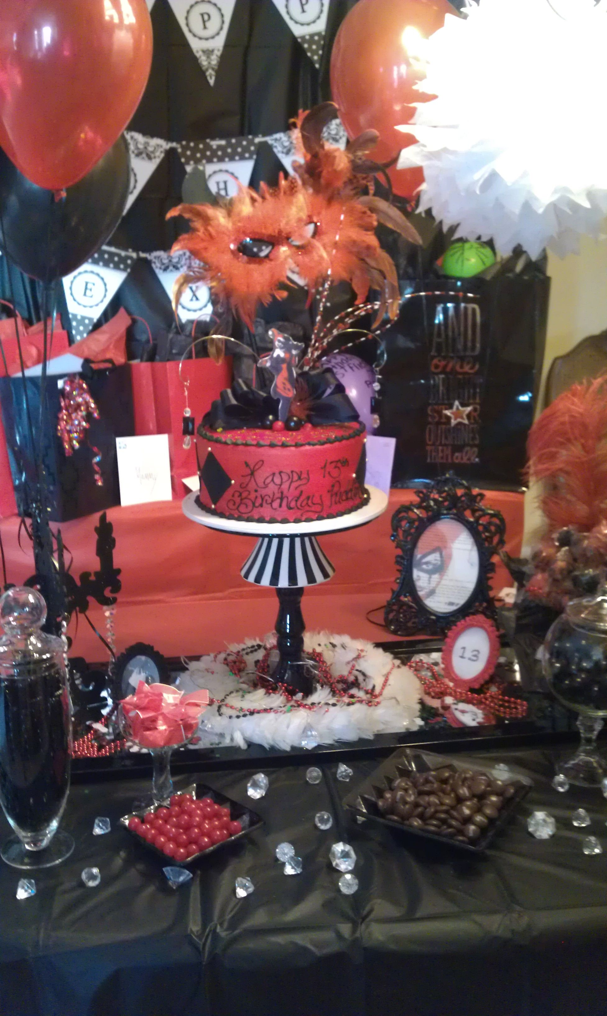 Harley Quinn Party Decor! Party Ideas Pinterest