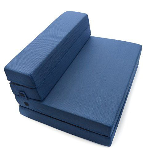 Kids Recliners Milliard Trifold Foam Folding Mattress And Sofa Bed For Guests Or Floor