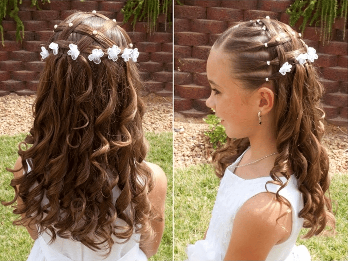 The Hairstyle In The Picture Is A Very Stylish And Beautiful
