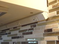 Under Cabinet Angled Receptacles  Cabinets Matttroy