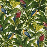 Grandeco Ideco Exotic Bird Pattern Parrot Motif Tropical