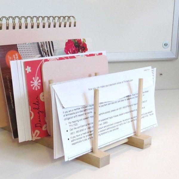 Home Office Paperwork Storage Ideas