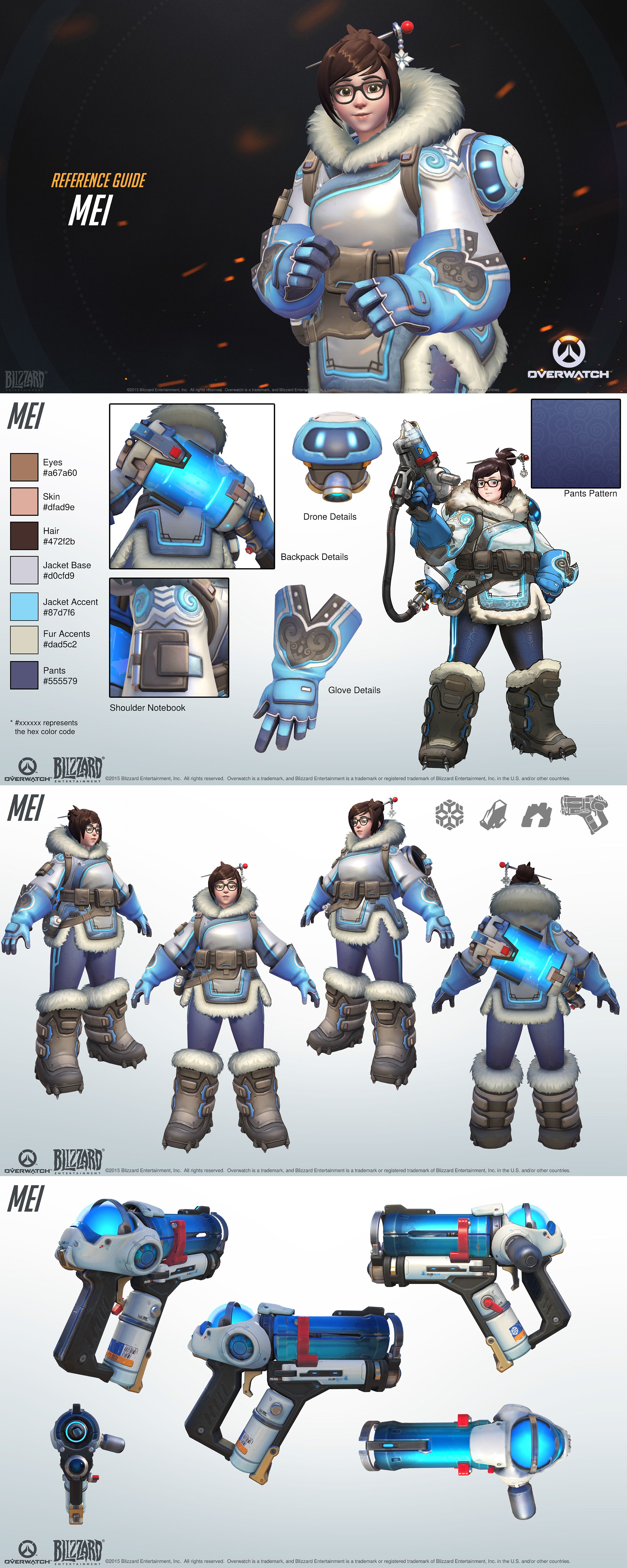 Want To Make Some Overwatch Fan Art Check Out Blizzard S Style Guides