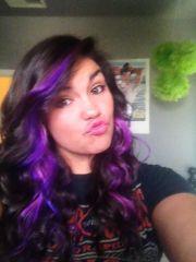 lusty lavender splat hair dye.semi