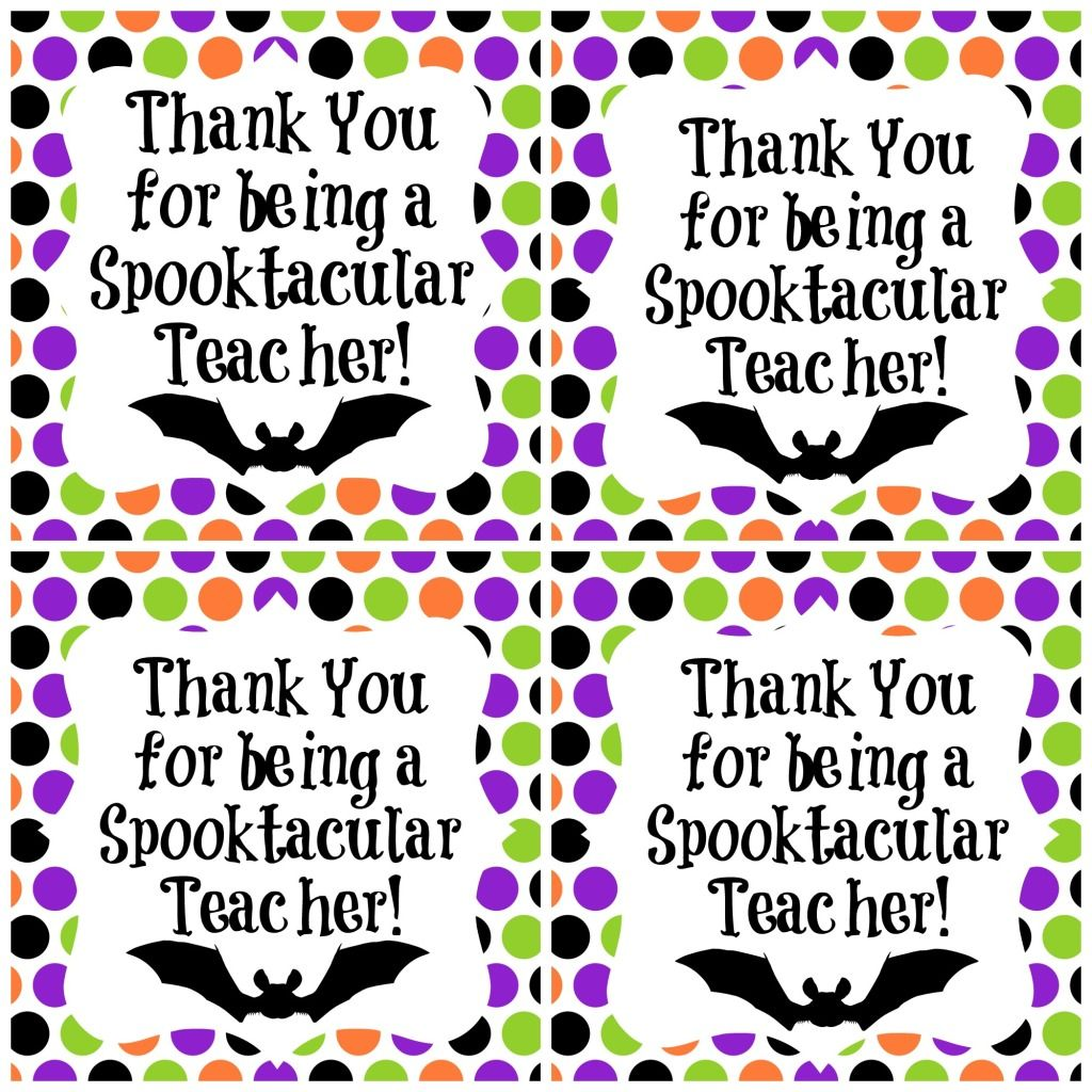 Spooktacular Teacher Freebie Halloween T Ideas