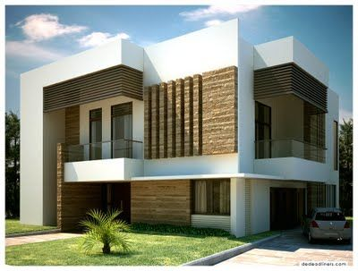 Modern Home Exterior Simplicity Love The Materials Mixing
