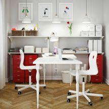 Stenstorp Kitchen Cart White Oak Drawer Unit And