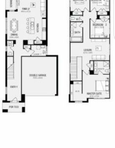 also best house plans storey narrow images on pinterest rh