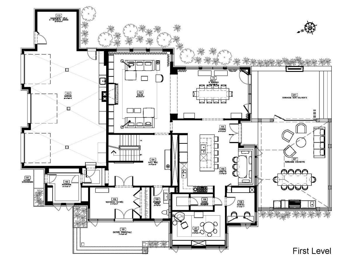Floor Plan Maison Du Boisé By Gestion René Desjardins Home