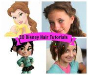 iconic disney princess hair