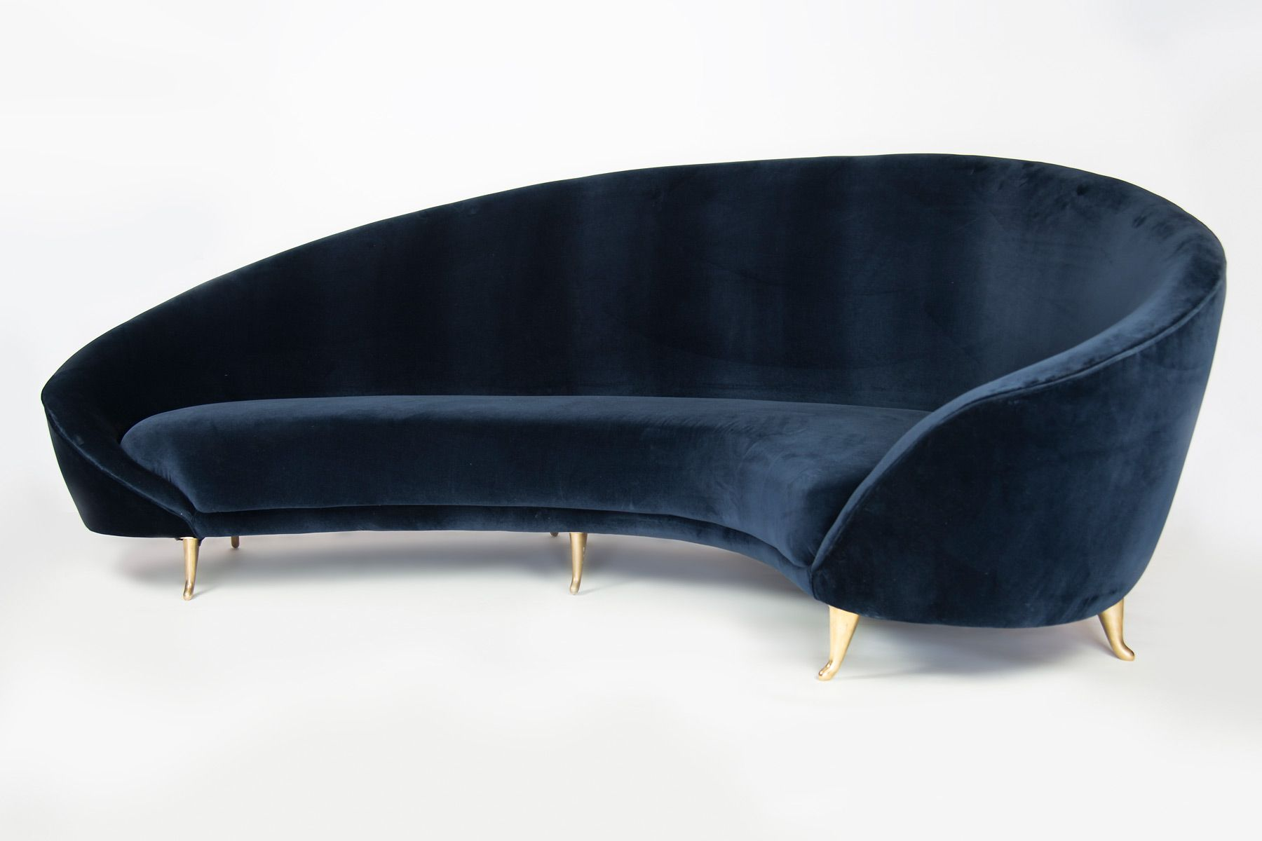 modern twine curved arm sofa loveseat bed on pinterest milo baughman and