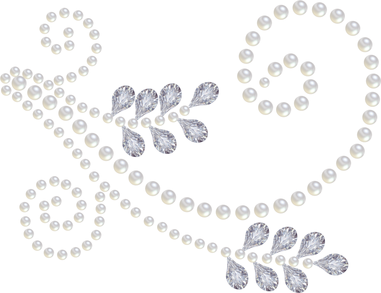 Pearl And Diamond Clip Art Check Out The Page There