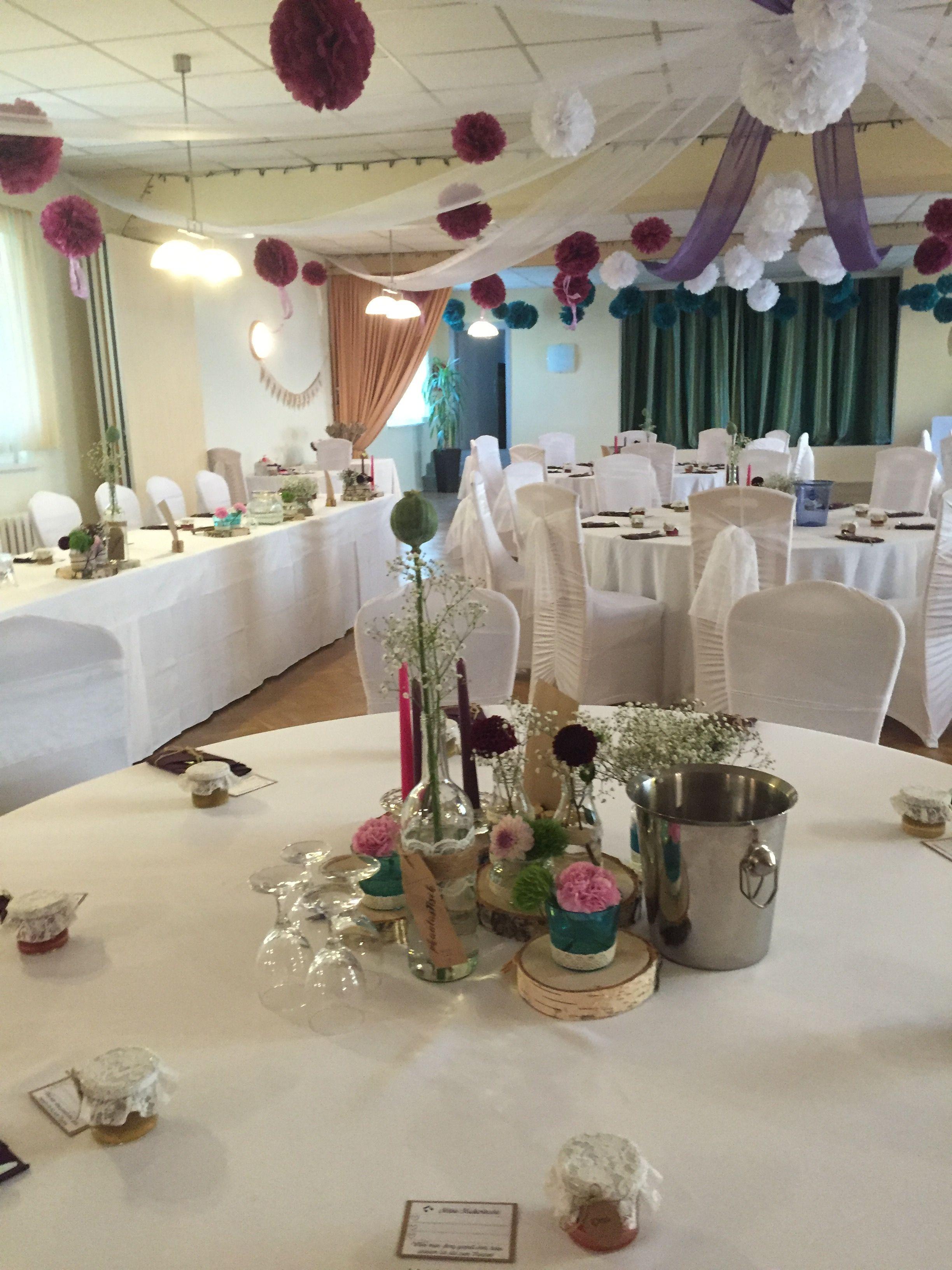 Deko Vintage Hochzeit Diy Hochzeitsdeko Tischdeko Bastelideen And