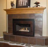 Valor G3 739IRN Gas Fireplace Insert with Creekside Rock ...