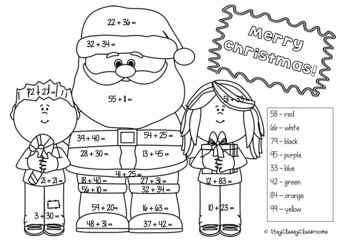 Christmas Maths Pack Year 1 Amp 2