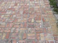 Perfect Brick Patio Patterns Brick Patio Basket Weave ...