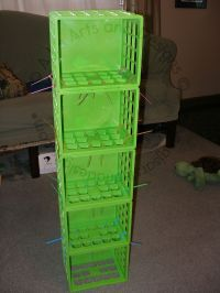 A.J.'s Arts and Designs: How to Make a Clothes Organizer ...
