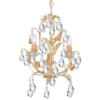 Athena 3 Light Mini Candle Chandelier Http Chandelierspot