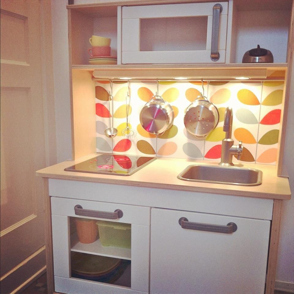 IKEA Play Kitchen Affordable And Cute Wanted To Share Can't