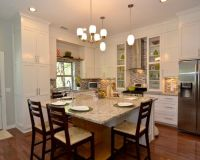 Eat In Kitchen Table Designs : Traditional Kitchen With