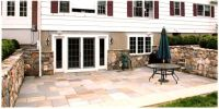 Walkout basement french doors to a lower level screened in ...